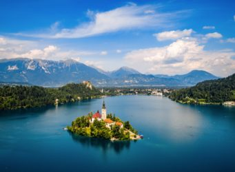 Resort lake bled Slovenie
